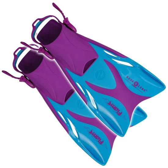 AQUALUNG Flame Fins Purple - Phuket Dive Tours