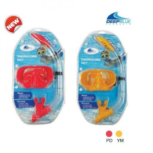 BALI Mask and Snorkel set in Clamshell or Meshbag