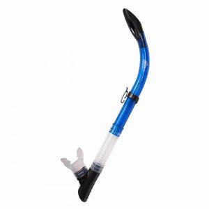 Deep Blue Stingray Snorkel DBSA105 Blue Transparent