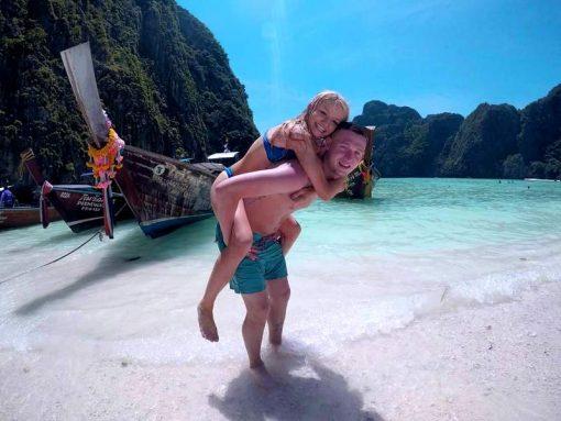 Phi Phi island Maya Bay Thailand