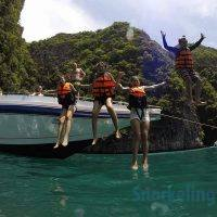 Phuket snorkeling tours – Phi Phi Island speed boat from Phuket