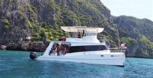 Racha Yai Island private snorkeling charter from phuket