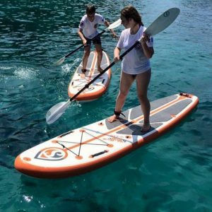 Stand up paddle boards at Racha Yai island snorkeling day trip